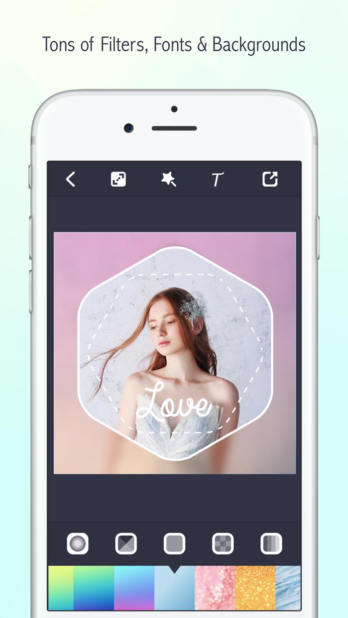 Lighto-Shape Border,Frame Mask Screenshot