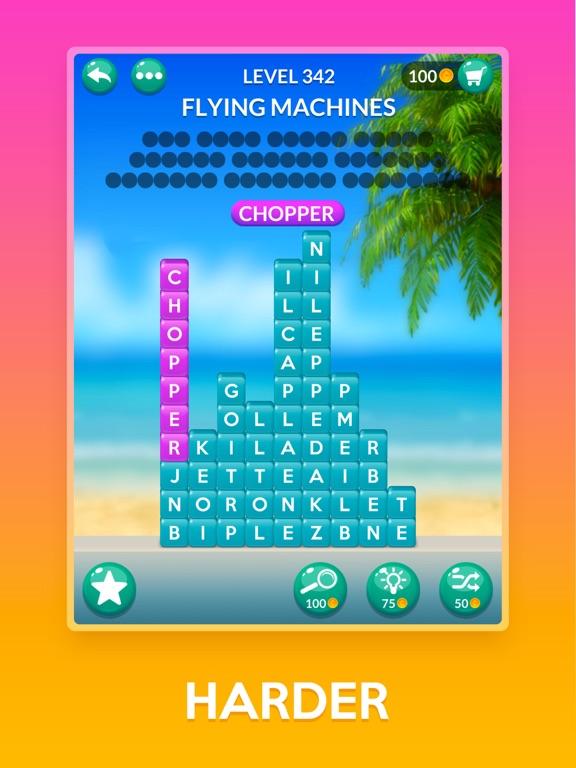 iPad Image of Word Stacks