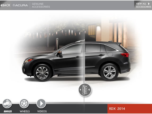 acura accessories on the app store