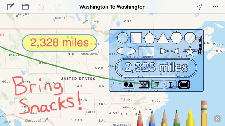Draw Maps: Map Notes screenshot-0