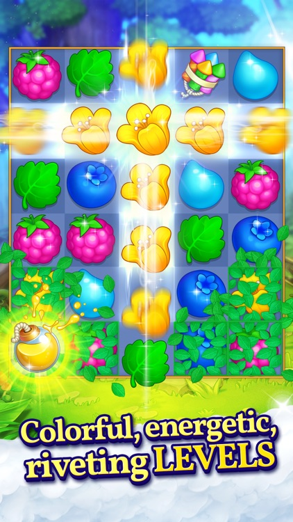 Puzzle Heart Match-3 Adventure screenshot-1