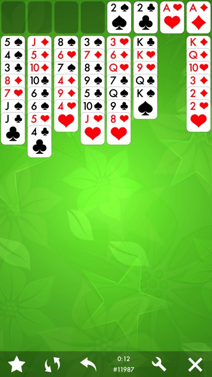 FreeCell Solitaire Card Game.