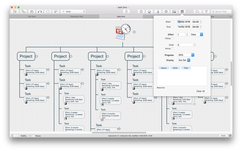 iThoughtsX (mindmap) Screenshots
