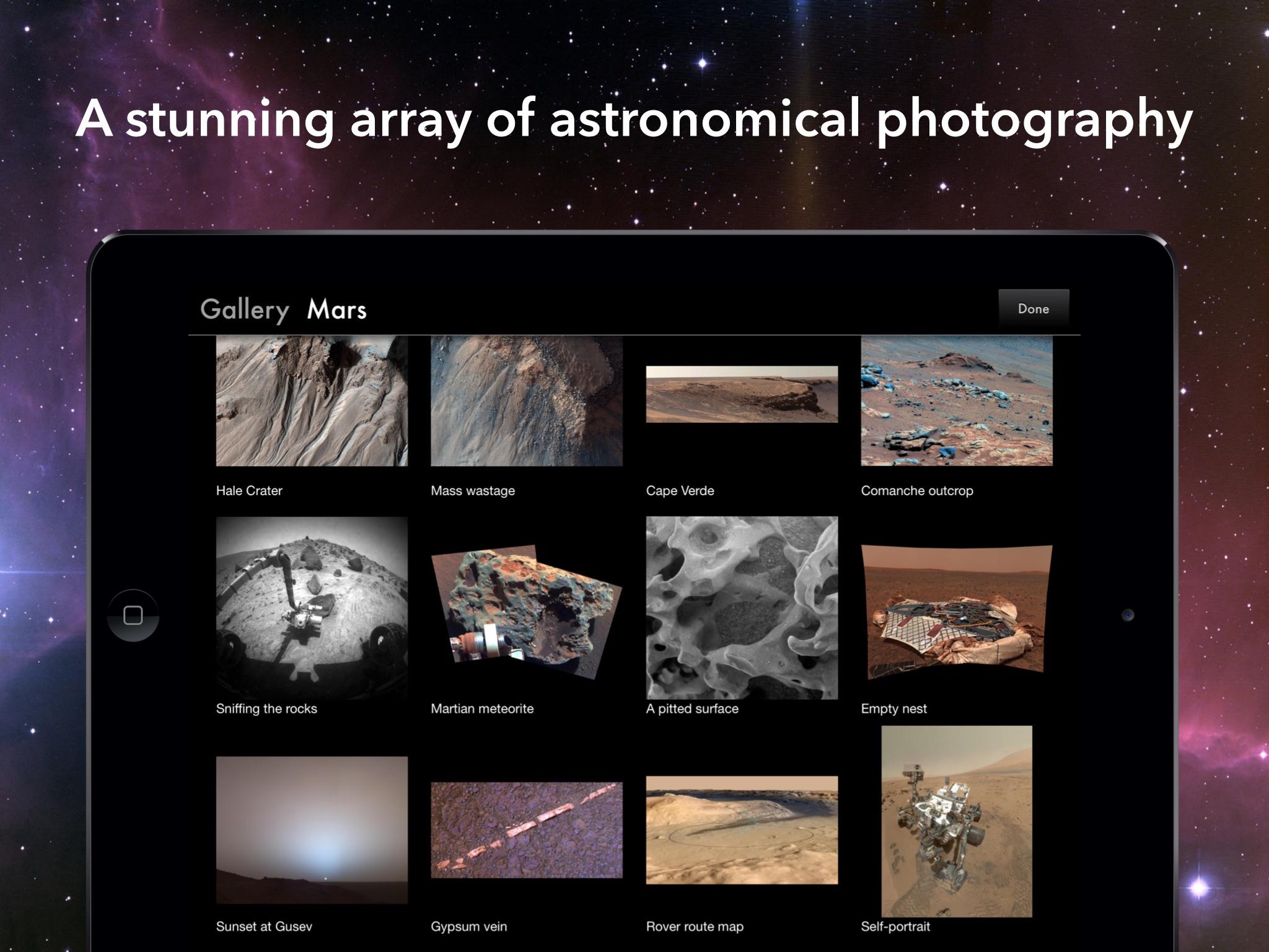 Screenshot do app Solar System for iPad