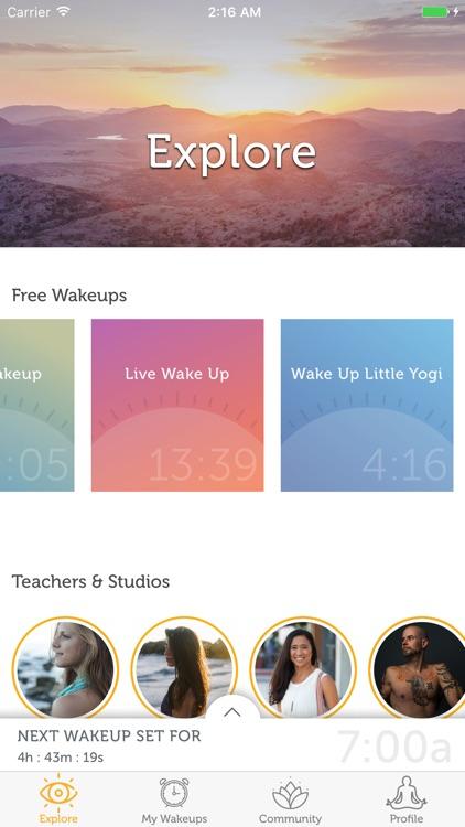 yoga wake up screenshot-0