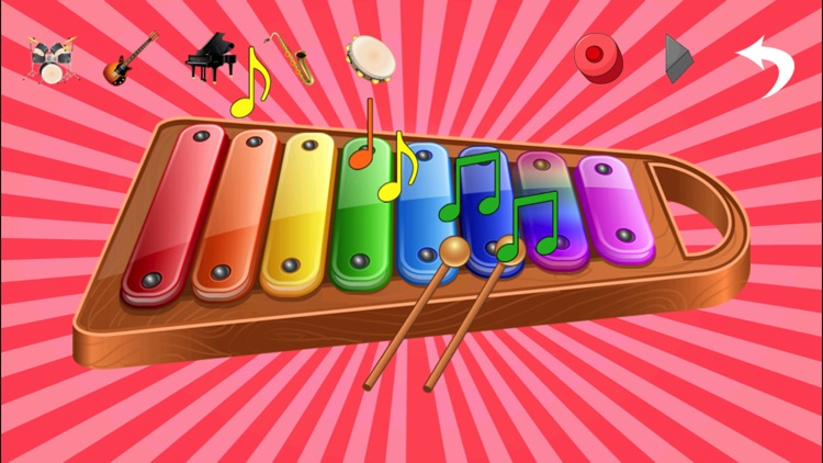 Kids Musical Instruments - Play easy music for fun screenshot-1