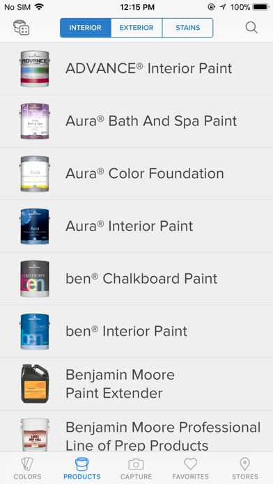 Color Capture by Benjamin Moore & Co (iOS, United States ...