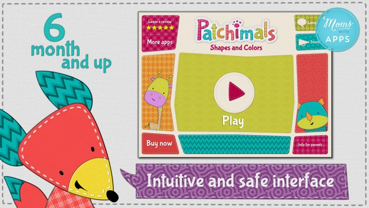 Patchimals - Shapes and colors screenshot-3
