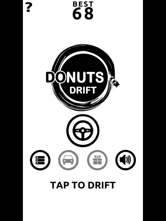 Donuts Drift - Slide Drifting screenshot 9