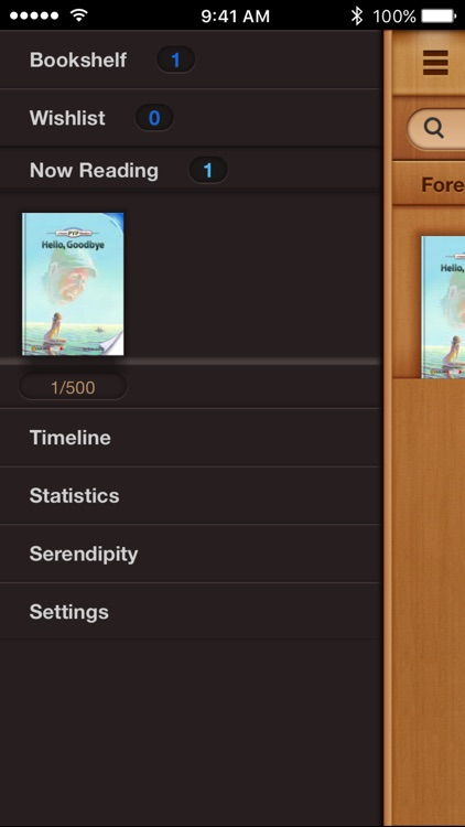 BooksWing Lite - Book and Reading Tracker Log