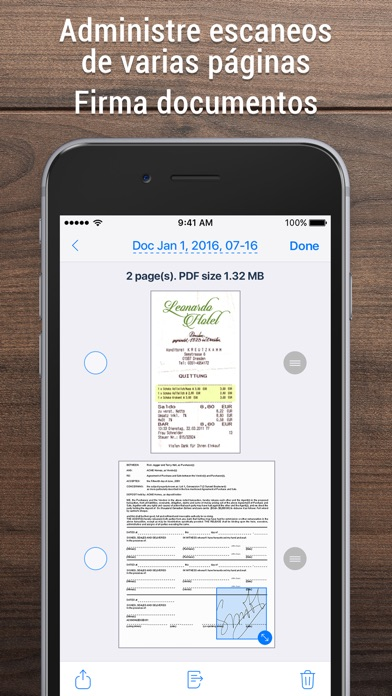 download iScanner: Escáner PDF y fotos apps 3