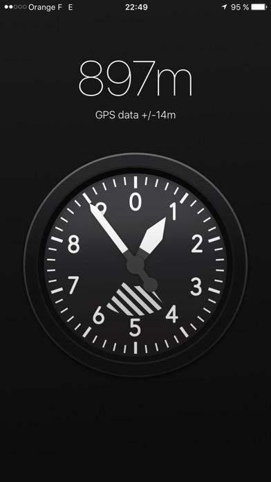 Screenshot for Altimètre X - Altitude par GPS in Lebanon App Store