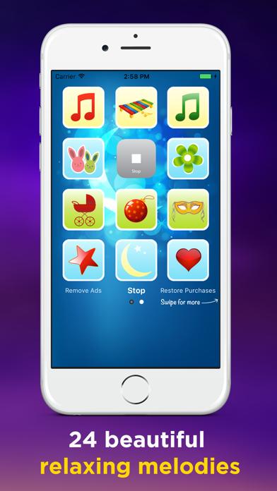 Music Box Baby Mobile screenshot two