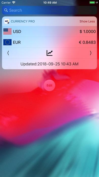 XE Currency Converter Pro Screenshots
