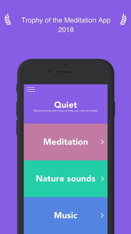 Quiet - Calm, Sleep, Relax