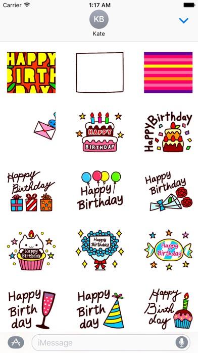Animated Happy Birthday screenshot 1