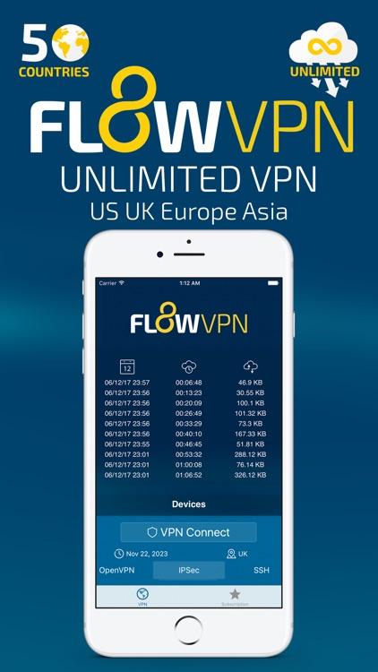 Flow VPN screenshot-0