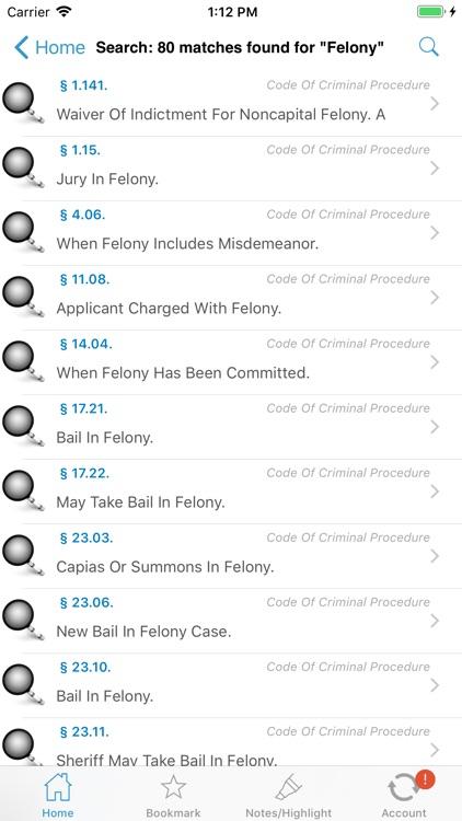 Oklahoma Statutes (OK Laws) screenshot-7