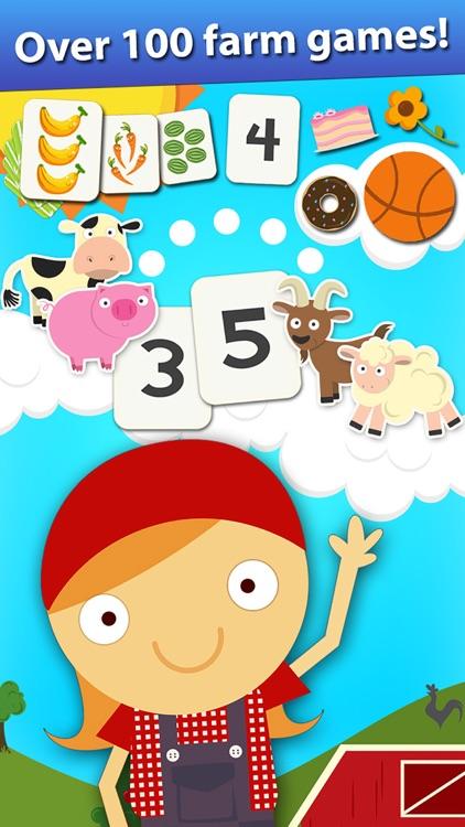 Animal Math Preschool Games screenshot-0