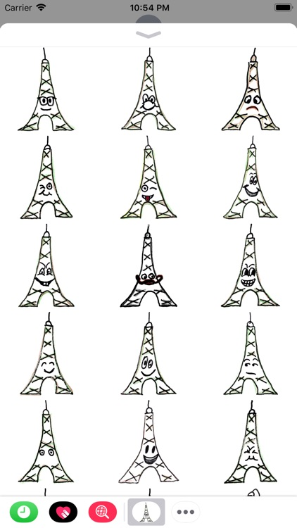 Eiffel-Sticker screenshot-4
