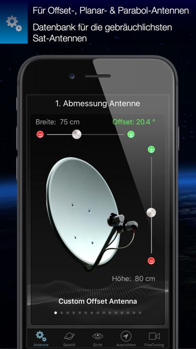 SatFinderScreenshot von 1