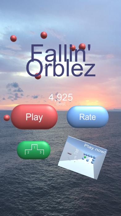 Fallin' Orblez screenshot one