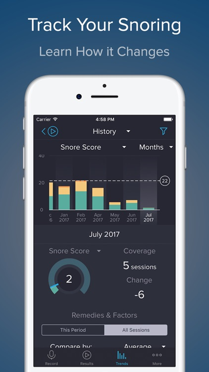 SnoreLab : Record Your Snoring screenshot-3