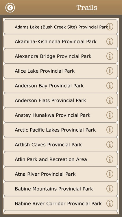 British Columbia-Camping Guide screenshot-3