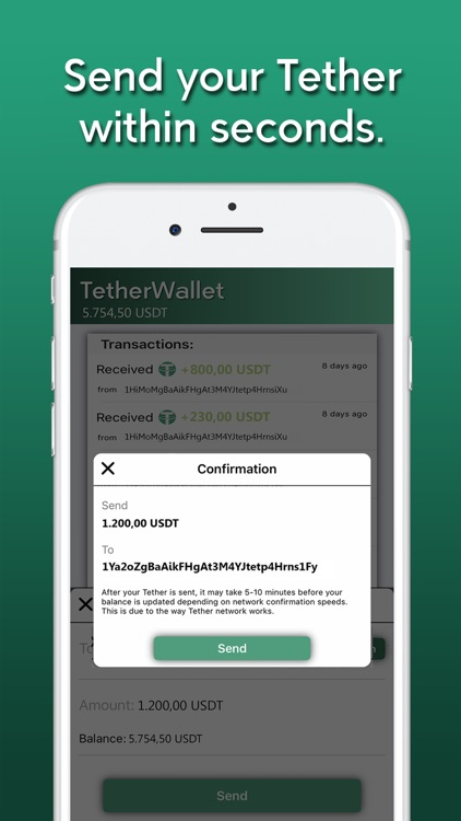 Tether Wallet screenshot-3