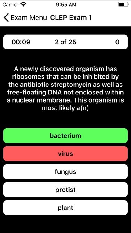 CLEP Biology Buddy screenshot-3