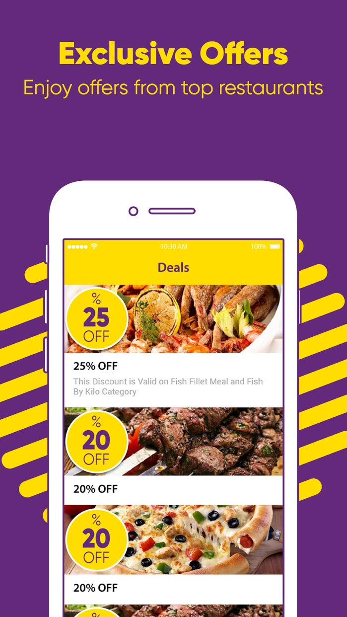Otlob - Online food delivery Screenshot