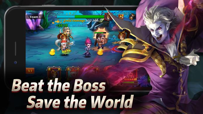 Heroes Charge Screenshot