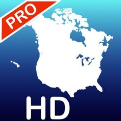 Aqua Map US Canada Marine GPS on the App Store