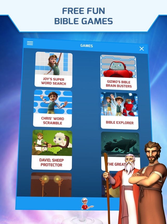Superbook Kids Bible on the App Store