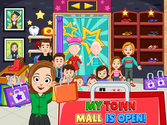 My Town : Shopping Mall Screenshots
