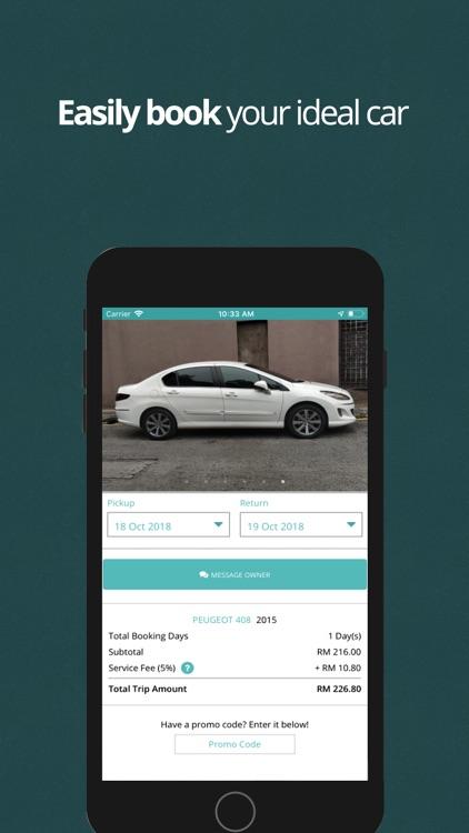 Kwikcar - Car Rental Community screenshot-3