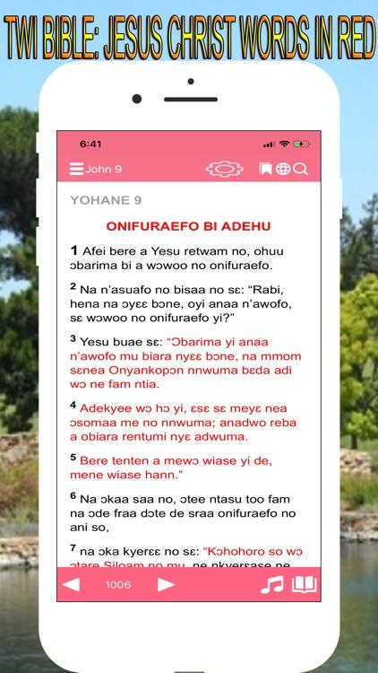 Twi Bible Akuapem screenshot-5