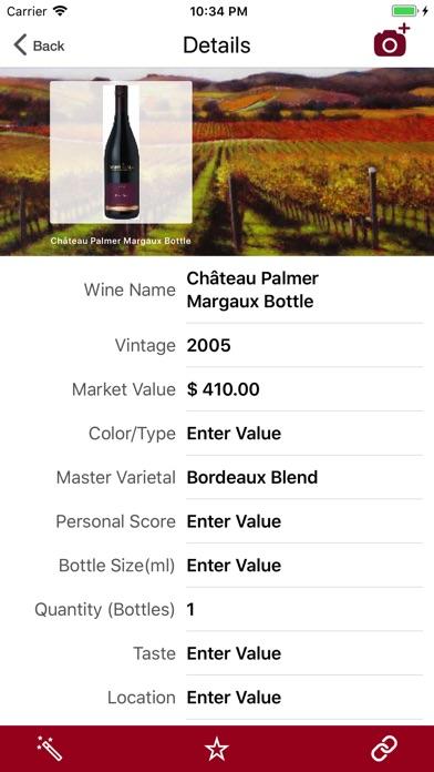 Wine Cellar Database Скриншоты4