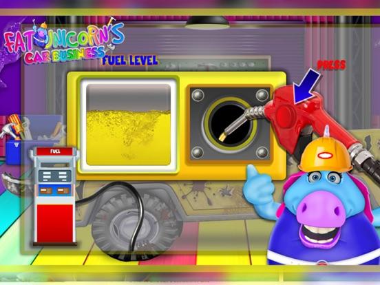 Mr. Fat Unicorn Car Mechanic screenshot 10