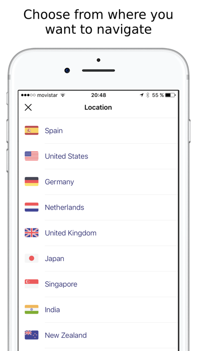 Secure VPN - Privacy & Proxy WiFi VPN Screenshot
