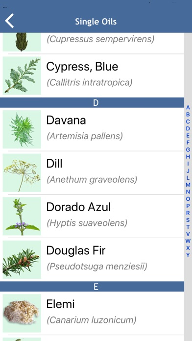 Ref Guide for Essential Oils app image