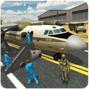 军队的囚犯运输机-驱动器警察范