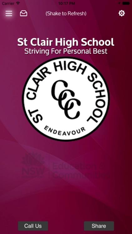 St Clair High School