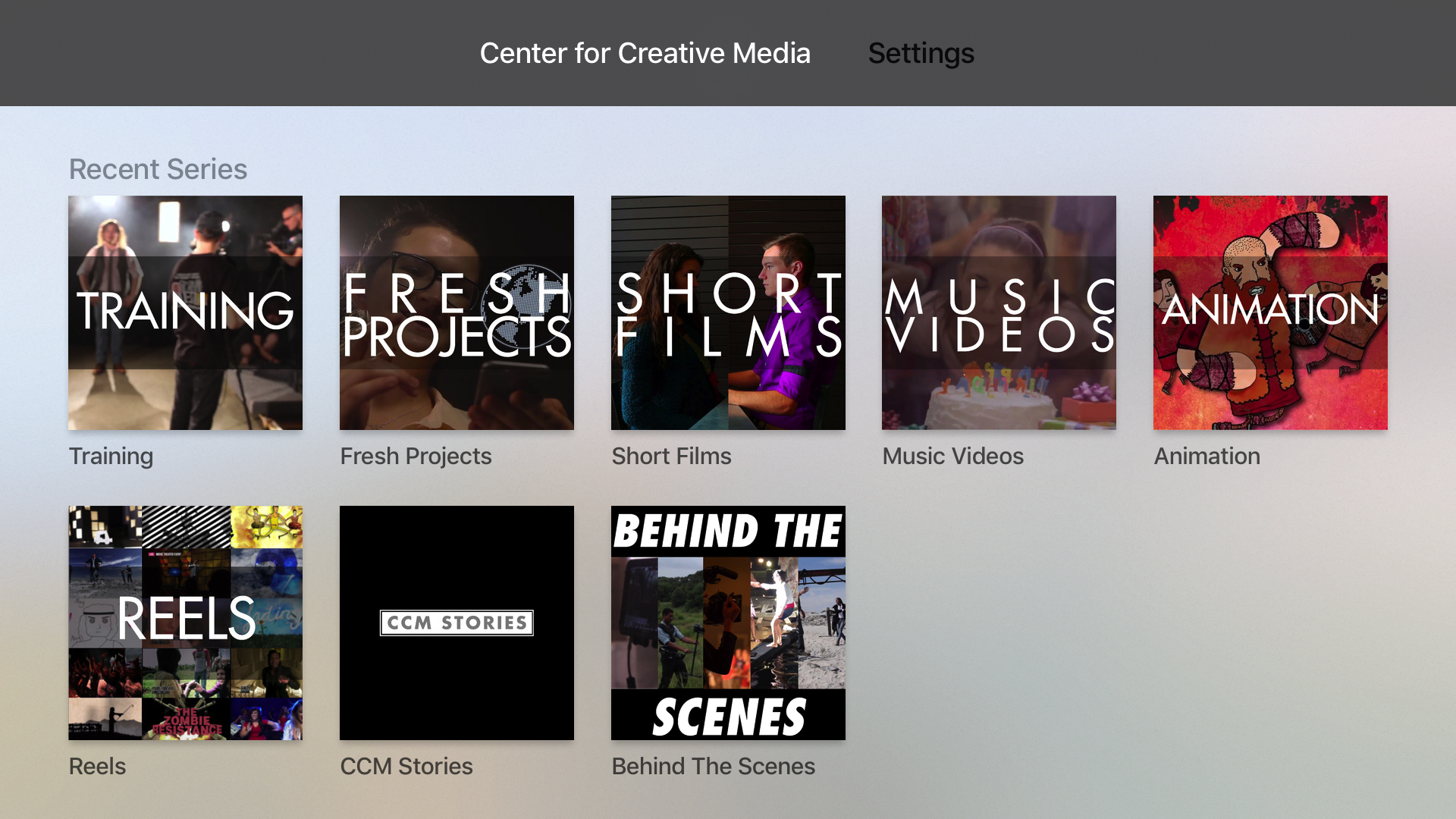 Center for Creative Media screenshot 5