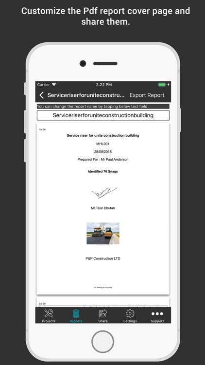 SnagBricks - Site Auditing screenshot-5