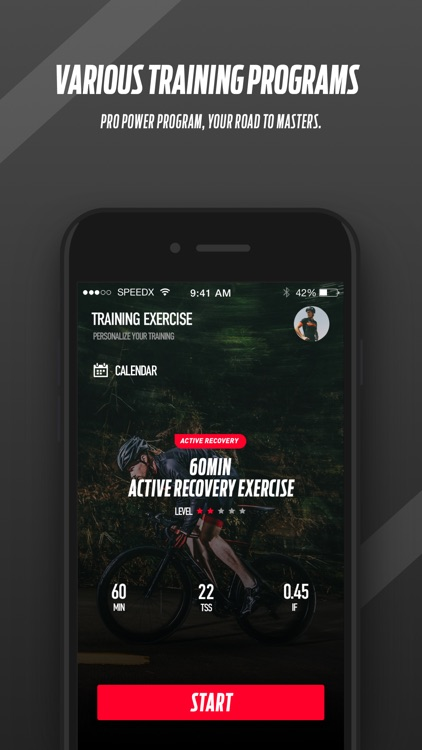 SpeedX Cycling App screenshot-3