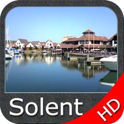Marine : Solent HD - GPS Map Navigator