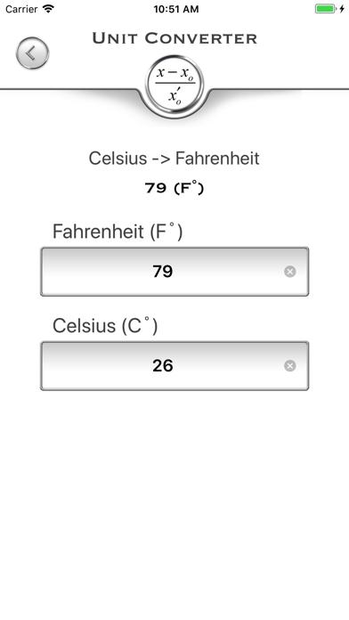 IC UnitsConverter screenshot two