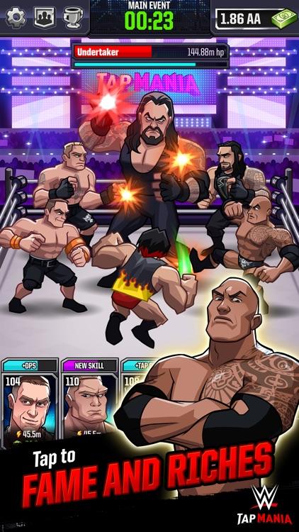 WWE Tap Mania screenshot-0