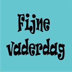 Vaderdag stickers NL